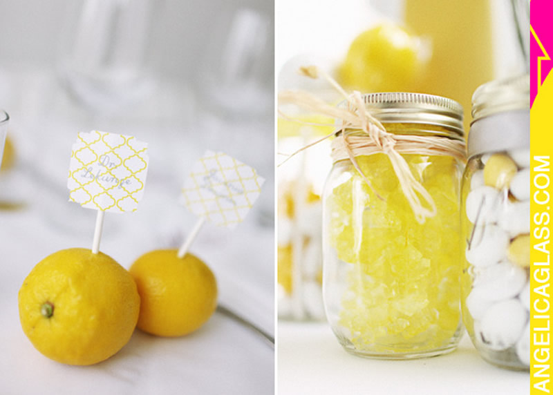 Yellow and white wedding decorations splendid northwest yellow and white wedding decorations junglespirit Image collections